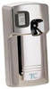 Rubbermaid Technical Concepts Microburst 3000 LCD Air Freshener Dispenser - Chrome in Color