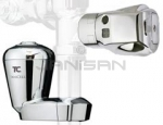 "Technical Concepts TC AutoFlush Clamp with Courtesy Flush Button & SaniCell 3/4"" Pipe Combo Kit for Sloan & Zurn Urinal Flush Valves"