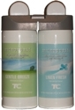 Technical Concepts TC 3485949 Microburst Duet Dual Fragrance Air Freshener Refills -  Gentle Breeze/Linen Fresh Fragrances - 1 case of 4 refills