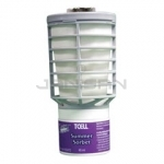 Technical Concepts TC 402473 TCell Continuous Odor Control Air Freshener Refills - 1 case of 6 refills - Summer Sorbet