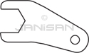 Technical Concepts 400847 Open End Collar Wrench
