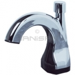 Technical Concepts TC SoapWorks Counter Mounted Manual Hand Soap Dispenser - Chrome and Black in Color