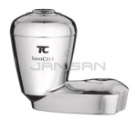 "Technical Concepts TC SaniCell Pipe - Fits 3/4"" Pipe - 5\"" H x 5.8\"" W x 3.3\"" D - Chrome in Color"