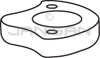 Technical Concepts TC490332 Top Plastic Insulator for Sienna AutoFaucets